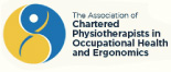 The Association of Chartered Physiotherapists in Occupational Health and Ergonomics logo